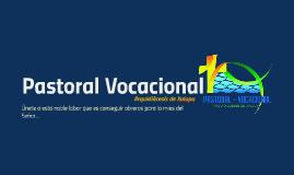 Pastoral Vocacional-Seminaristas