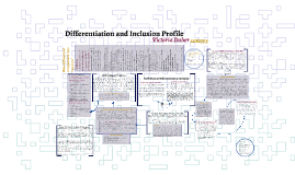 Differentiation and Inclusion Profile