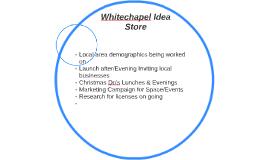 Whitechapel Idea Store