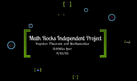 Math IRP
