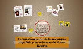 Copy of La transformación de la monarquía española y las reformas de