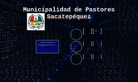 Municipalidad de Pastores Sacatepéquez