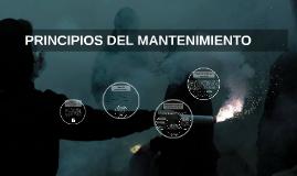 PRINCIPIOS DEL MANTENIMIENTO