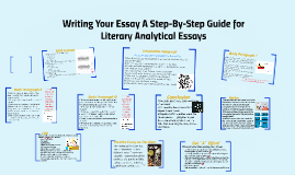Copy of Analytical Essay - A step by step guide