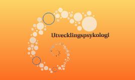 Utvecklingspsykologi