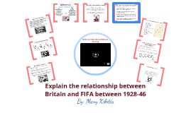 Explain Britain's relationship with FIFA between 1928 and 1946