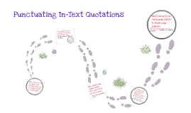 Punctuating In-Text Citations