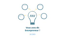 UE CMOI : Entreprenariat