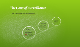The Cons of Surveillance