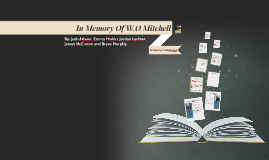 Copy of Copy of Copy of Copy of In Memory of W.O. Mitchell