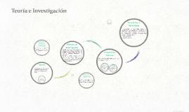 Copia de Teoría e Investigación