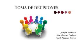 TOMA DE DECICIONES