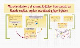 Copy of Microcirculación y el sistema linfático: intercambio de líquido capilar, líquido intersticial y flujo linfático