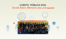 CUENTA  PÚBLICA 2016
