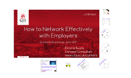 Network with employers (BOOTCAMP)