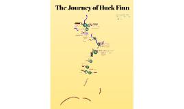 Huckleberry Finn Journey Map