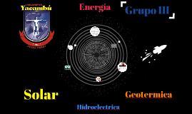 Tipos de Energia