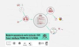 Metode de reprezentare în analiza teritorială  (CAD)