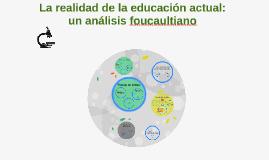 La realidad de la educación actual: un                anális