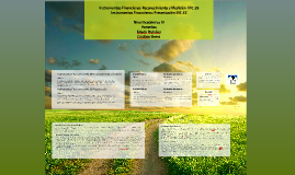 Copy of Instrumentos Financieros: Reconocimiento y Medición  NIC 39