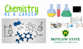 Copy of Chemistry as a Career