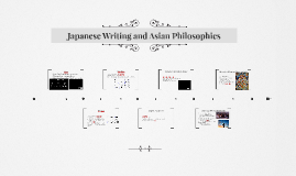 Japanese Writing and Asian Philosophies