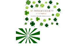 ST. PATRICK'S SOCIETY OF THE PHILIPPINES