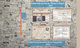 """Anàlisi dels anuncis """"Blanco y Negro"""""""