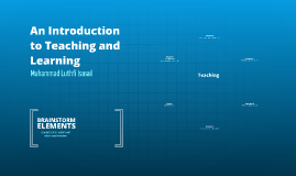 An Introduction to Teaching and Learning