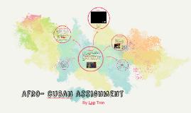 Afro- cuban assignment