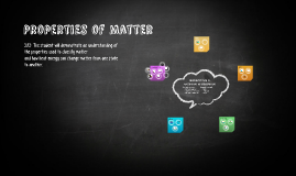 Copy of Properties of Matter