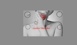 Goiter Disorder