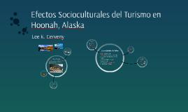 Efectos Socioculturales del Turismo en Hoonah, Alaska