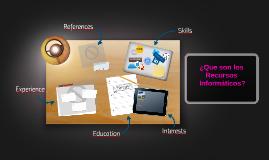 ¿Qué son los recursos informáticos?