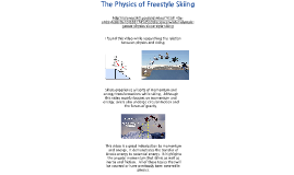 The Physics of Freestyle Skiing