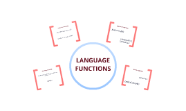 Copy of Language Functions