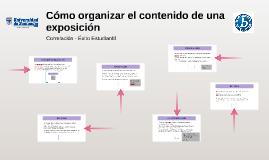 Correlación - contenido expo