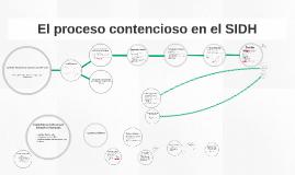 El proceso contencioso en el SIDH