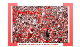 Projet festival VPT