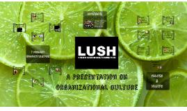 Copy of Lush: Organizational Culture