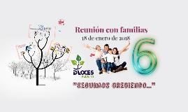 Reunion con familias