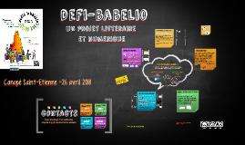 Présentation defi-babelio