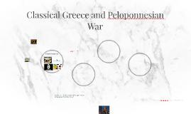 Classical Greece and Peloponnesian War