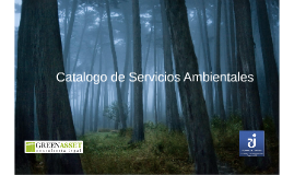 Catalogo de Servicios Ambientales
