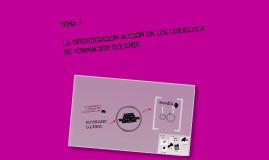 LA INVESTIGACION-ACCION EN LOS CURRICULA