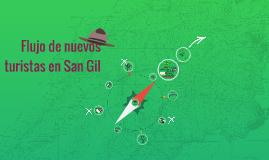 Flujo de nuevos turistas en San Gil