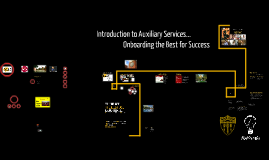 Copy of Introduction to Auxiliary Services...Onboarding the Best for Success!
