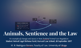 Animals, Sentience and the Law