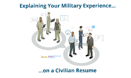 Explaining Your Military Experience on Your Resume