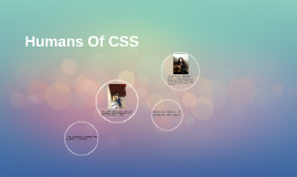 Humans Of CSS